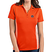 Antigua Women's Auburn Tigers Orange Venture Polo
