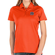 Antigua Women's Auburn Tigers Orange Balance Polo