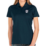 Antigua Women's Butler Bulldogs Blue Balance Polo