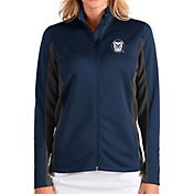 Antigua Women's Butler Bulldogs Blue Passage Full-Zip Jacket