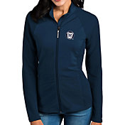 Antigua Women's Butler Bulldogs Blue Sonar Full-Zip Performance Jacket
