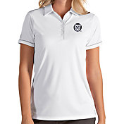 Antigua Women's Butler Bulldogs Salute Performance White Polo