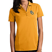 Antigua Women's Baylor Bears Gold Tribute Performance Polo