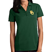 Antigua Women's Baylor Bears Green Tribute Performance Polo