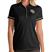 Antigua Women's UCF Knights Salute Performance Black Polo