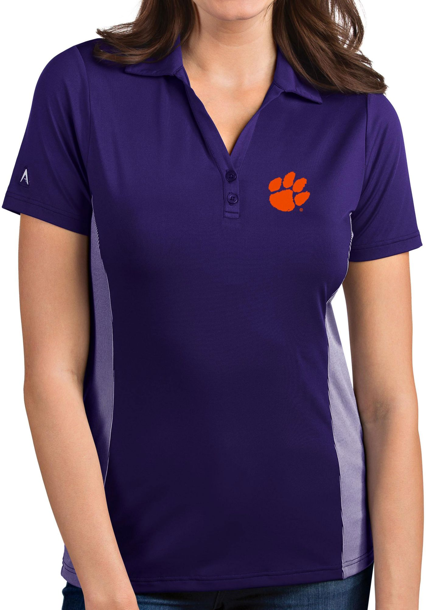 Antigua Women's Clemson Tigers Regalia Venture Polo