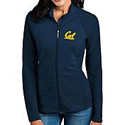 Antigua Women's Cal Golden Bears Blue Sonar Full-Zip Performance Jacket
