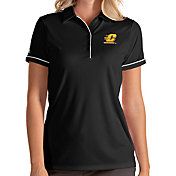 Antigua Women's Central Michigan Chippewas Salute Performance Black Polo