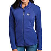 Antigua Women's Air Force Falcons Blue Sonar Full-Zip Performance Jacket