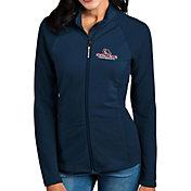 Antigua Women's Gonzaga Bulldogs Blue Sonar Full-Zip Performance Jacket
