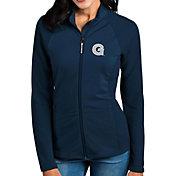 Antigua Women's Georgetown Hoyas Blue Sonar Full-Zip Performance Jacket
