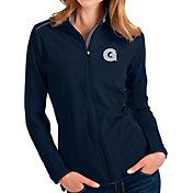 Antigua Women's Georgetown Hoyas Blue Glacier Full-Zip Jacket