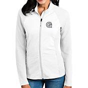 Antigua Women's Georgetown Hoyas White Sonar Full-Zip Performance Jacket