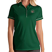 Antigua Women's Ohio Bobcats Green Salute Performance Polo