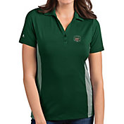 Antigua Women's Ohio Bobcats Green Venture Polo