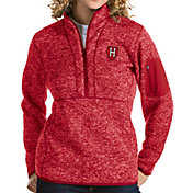 Antigua Women's Harvard Crimson Crimson Fortune Pullover Jacket