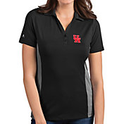 Antigua Women's Houston Cougars Grey Venture Polo
