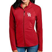 Antigua Women's Houston Cougars Red Sonar Full-Zip Performance Jacket