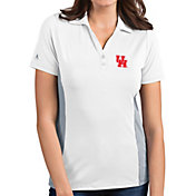 Antigua Women's Houston Cougars Venture White Polo