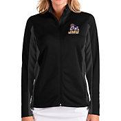 Antigua Women's James Madison Dukes Passage Full-Zip Black Jacket
