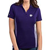 Antigua Women's Kansas State Wildcats Purple Venture Polo