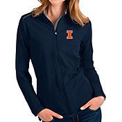 Antigua Women's Illinois Fighting Illini Blue Glacier Full-Zip Jacket
