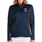 Antigua Women's Illinois Fighting Illini Blue Passage Full-Zip Jacket