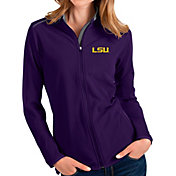 Antigua Women's LSU Tigers Purple Glacier Full-Zip Jacket