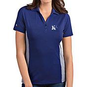 Antigua Women's Memphis Tigers Blue Venture Polo