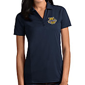 Antigua Women's Marquette Golden Eagles Blue Tribute Performance Polo