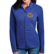 Antigua Women's Marquette Golden Eagles Blue Sonar Full-Zip Performance Jacket