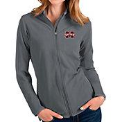 Antigua Women's Mississippi State Bulldogs Grey Glacier Full-Zip Jacket