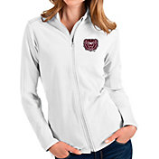 Antigua Women's Missouri State Bears Glacier Full-Zip White Jacket