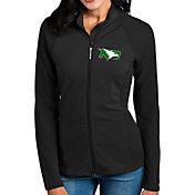 Antigua Women's North Dakota Fighting Hawks Black Sonar Full-Zip Performance Jacket