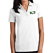 Antigua Women's North Dakota Fighting Hawks Tribute Performance White Polo