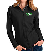 Antigua Women's North Dakota Fighting Hawks Glacier Full-Zip Black Jacket
