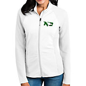 Antigua Women's North Dakota Fighting Hawks White Sonar Full-Zip Performance Jacket