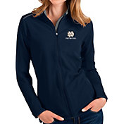 Antigua Women's Notre Dame Fighting Irish Navy Glacier Full-Zip Jacket