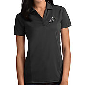 Antigua Women's Navy Midshipmen Grey Tribute Performance Polo