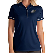 Antigua Women's Navy Midshipmen Navy Salute Performance Polo