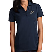 Antigua Women's Navy Midshipmen Navy Tribute Performance Polo