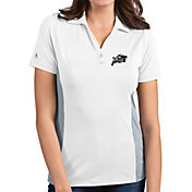 Antigua Women's Navy Midshipmen Venture White Polo
