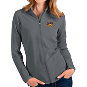 Antigua Women's Northern Iowa Panthers  Grey Glacier Full-Zip Jacket