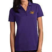 Antigua Women's Northern Iowa Panthers  Purple Tribute Performance Polo