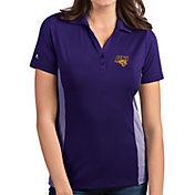 Antigua Women's Northern Iowa Panthers  Purple Venture Polo