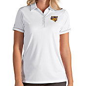 Antigua Women's Northern Iowa Panthers  Salute Performance White Polo