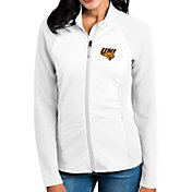 Antigua Women's Northern Iowa Panthers  White Sonar Full-Zip Performance Jacket