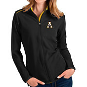 Antigua Women's Appalachian State Mountaineers Glacier Full-Zip Black Jacket
