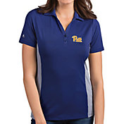 Antigua Women's Pitt Panthers Blue Venture Polo