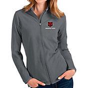 Antigua Women's Arkansas State Red Wolves Grey Glacier Full-Zip Jacket